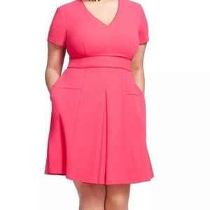 eShakti fit and flare with pockets